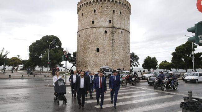 Başkan Batur'un Selanik programı başladı