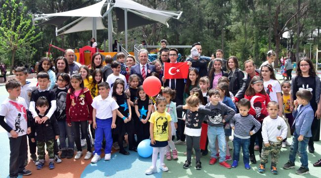 Bornovalı çocuklara ara tatil hediyesi