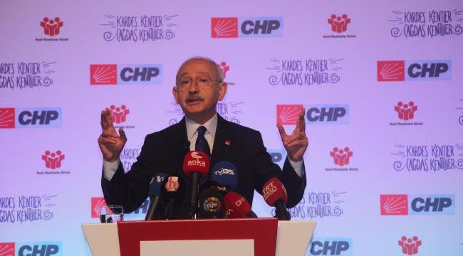 CHP Lideri Kılıçdaroğlu Belediye Başkanları Toplantısında Konuştu