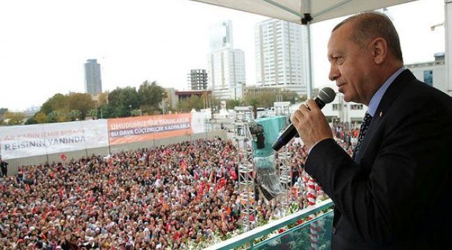 Cumhurbaşkanı Erdoğan İzmir'e 70 Katrilyon Yatırım Yaptık