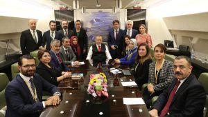 Cumhurbaşkanı Erdoğan, Macaristan ziyareti dönüşü gazetecilerle söyleşi gerçekleştirdi