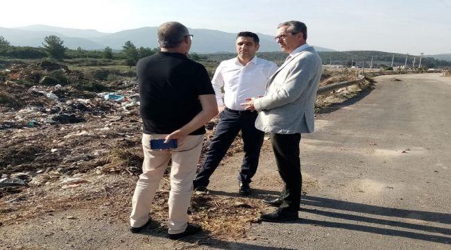 Gaziemir ve Menderes'te Moloz sorunu işbirliğiyle çözüldü