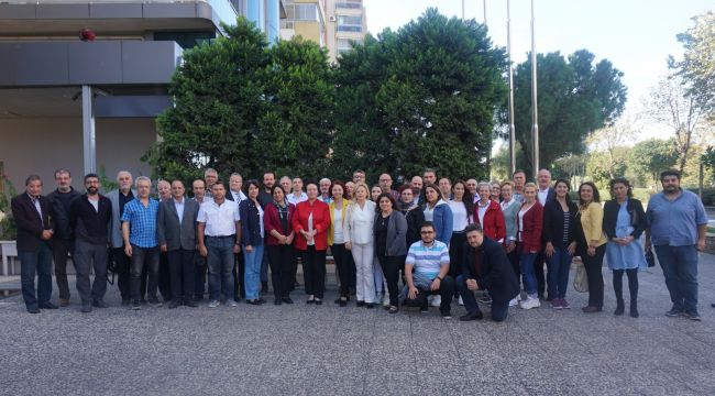 İGC,Aydınlı meslektaşlarıyla buluştu