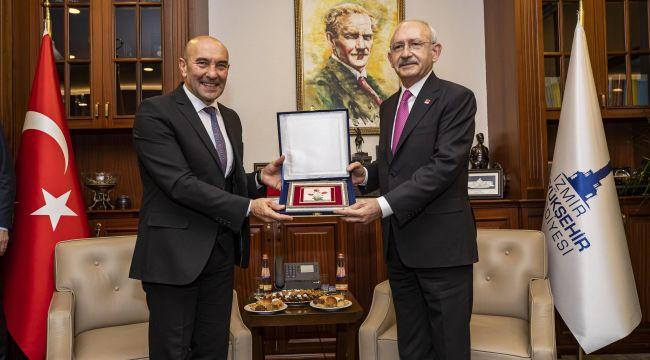 Kılıçdaroğlu'ndan Soyer'e övgü