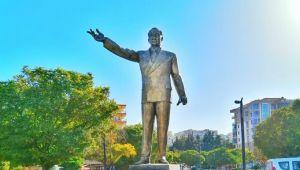 Menemen'de Atatürk Heykeli açılıyor