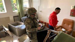 MSB:Terör Örgütü PKK/YPG'nin Kullanılamaz Hale Getirdiği Rasulayn Hastanesi'nin Eksikleri Giderilecek