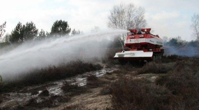 'Yeşil doğaya kırmızı tank' projesi