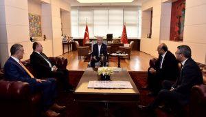Anavatan Partisinden CHP Genel Başkanı Kılıçdaroğlu'na Ziyaret