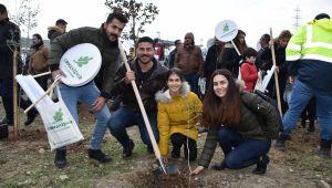 Başkan Fatih Gürbüz Orman İzmir Fidan Şenliğine Katıldı