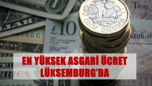 En Yüksek Asgari Ücret Lüksenburg'da