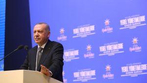 """Erdoğan; """"Türkiye'nin geleceğini kadınlarımızla birlikte inşa edeceğiz"""""""