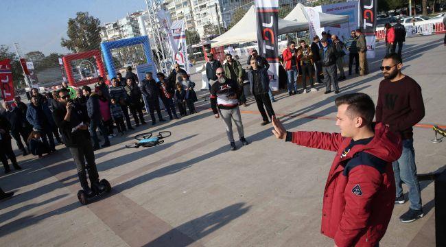 Karşıyaka'da nefes kesen etkinlik başladı!