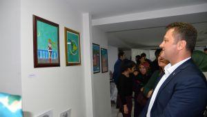 Menemen Belediyesi kursiyerlerinden sergi