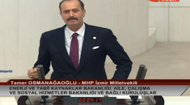 MHP'li Tamer Osmanağaoğlu: Türkiye Kıbrıs ve Akdeniz'de Kiracı Değil Ev Sahibidir!