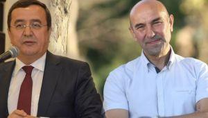 Tunç Soyer, Konak Belediye Başkanı Abdül Batur ile görüşerek gökdelen projesi ruhsatının iptali için gerekli çalışmaları başlattı