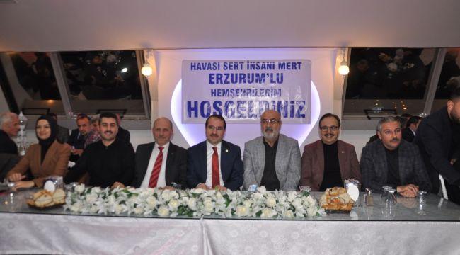 AK Partili Kırkpınar, İzmir'de Erzurumlu hemşehrileriyle buluştu