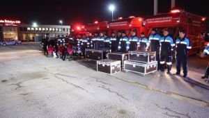 Ankara Büyükşehir'den Elazığ'a Ekip Gönderiyor
