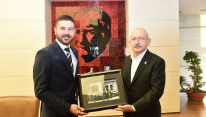 Başkan Gürbüz'den CHP Genel Başkanı Kemal Kılıçdaroğlu'na Ziyaret