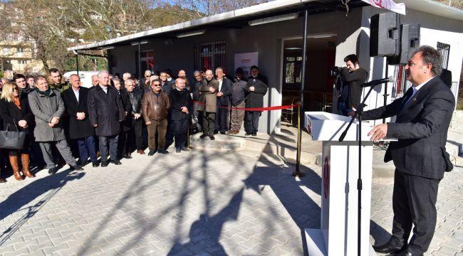 Başkan İduğ, ilk Taziye Evi'ni Kavaklıdere Mahallesi'nde açtı