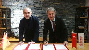 Bornova Belediyesi ile MTK arasında protokol imzalandı