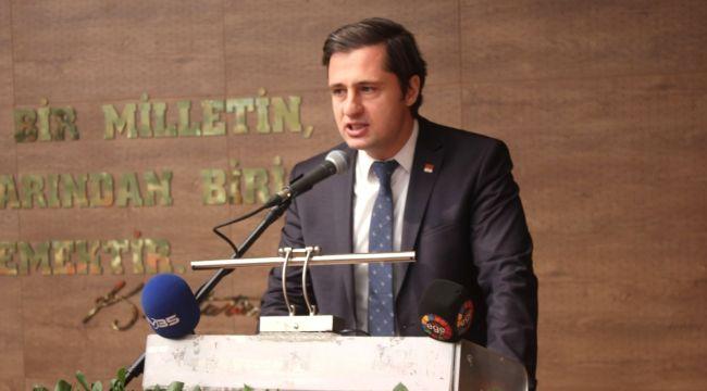CHP İl Başkanı Yücel Menderes Projesine ve Belediye Başkanlarına Sahip Çıktı