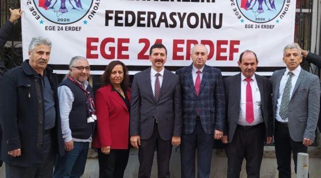 Ege'de Yaşayan Erzincanlıların Federasyon Hayali Gerçek Oldu