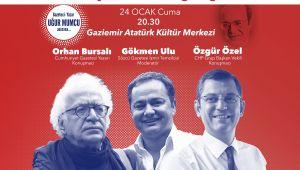 Gaziemir'de ifade özgürlüğü tartışılacak