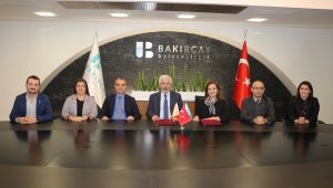 İzmir Bakırçay Üniversitesi ile AEK Araştırma Ltd. Şti. Arasında İşbirliği Protokolü İmzalandı