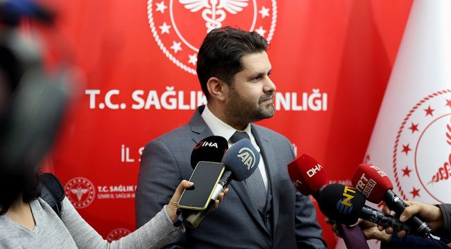 İzmir İl Sağlık Müdürü Öztop: