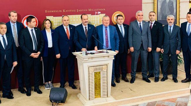 MHP'den Kamyoncu Esnafın Sorunları Ve Çözüm Önerileri Açıklaması