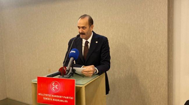 """MHP'li Osmanağaoğlu; """"Muhtarlarımız demokrasimizin itibarıdır"""