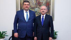 Seferihisar Belediye Başkanı İsmail Yetişkin CHP Genel Başkanı Kemal Kılıçdaroğlu ile buluştu