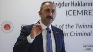 Adalet Bakanı Gül'den infaz indirimi düzenlemesi açıklaması