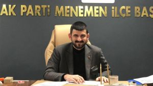 Ak Parti Menemen İlçe Başkanı Yüksel Aday Olmayacağını Açıkladı