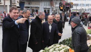 AK Parti Teşkilat Başkanı Kandemir'den tam gün İzmir mesaisi