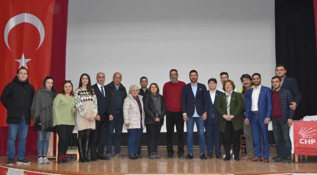 CHP Foça Gençlik Kollarında Yeni Başkan Caner Aktan