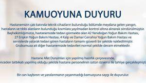 Egepol Hastanesinden Açıklama
