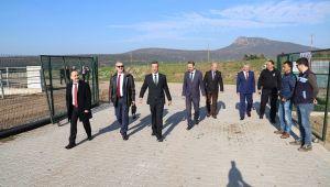 İzmir Cumhuriyet Başsavcısı Foça Açık Ceza İnfaz Kurumunu ziyaret etti