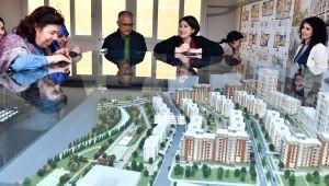 İzmir Emrez'de kentsel dönüşüm çalışmaları sürüyor