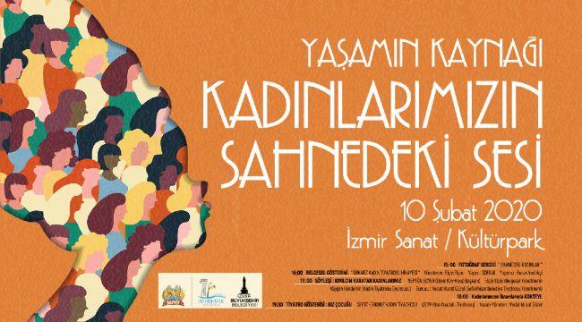 """""""Kadınlarımızın Sahnedeki Sesi"""" İzsanat'ta"""