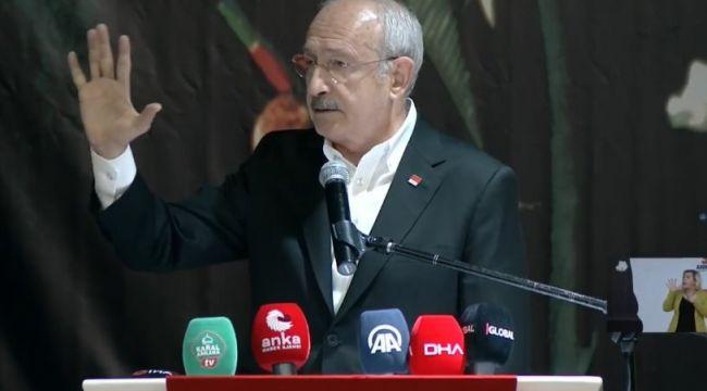 Kılıçdaroğlu: Nerede bir sorun varsa o sorunun en sağlıklı, en tutarlı çözüm adresi CHP'dir