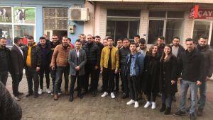 Kiraz CHP Gençlik Kollarında Başkan Bir Kez Daha Serkan barut Oldu