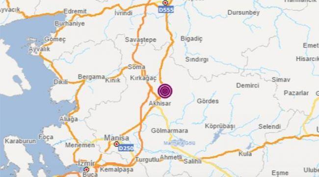 Manisa'da korkutan deprem! İzmir'de de hissedildi