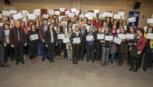 Ödemişli 98 kadın meslek sahibi oldu