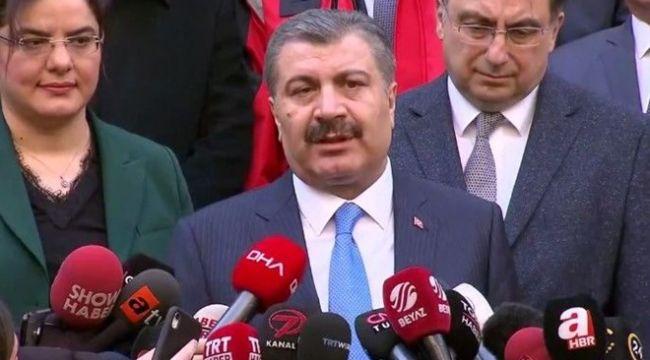Sağlık Bakanı: Karantinadaki 42 vatandaşta virüs çıkmadı