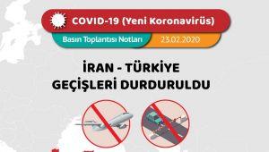 Türkiye, İran ve Nahcivan sınır kapılarını geçici olarak kapattı