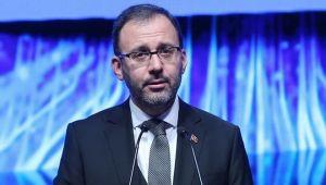 Bakan Kasapoğlu: Ligler ertelendi
