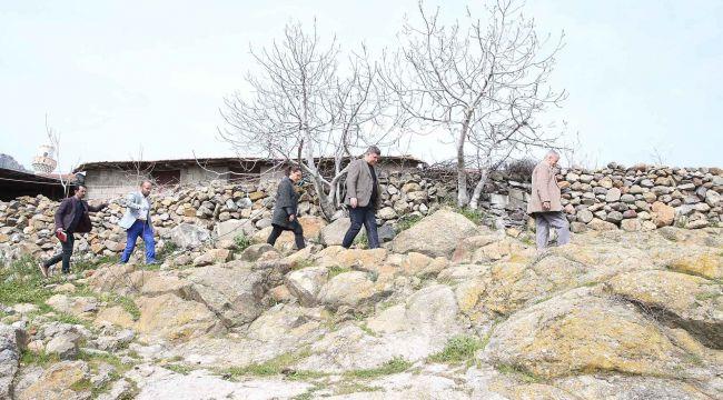 Başkan Tugay'dan köylere Korona turu