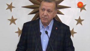 Cumhurbaşkanı Erdoğan: Yeni tedbir paketini hayata geçirmeyi kararlaştırdık