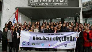 İzmirli İş Kadınları ve Derneklerden 'Birlikte Güçlüyüz' etkinliği